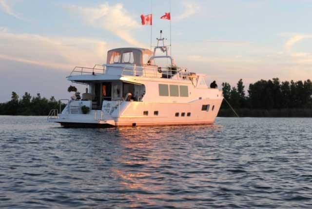 2013 Custom Boat Mfg Dovercraft Trawler Photo 2 of 22