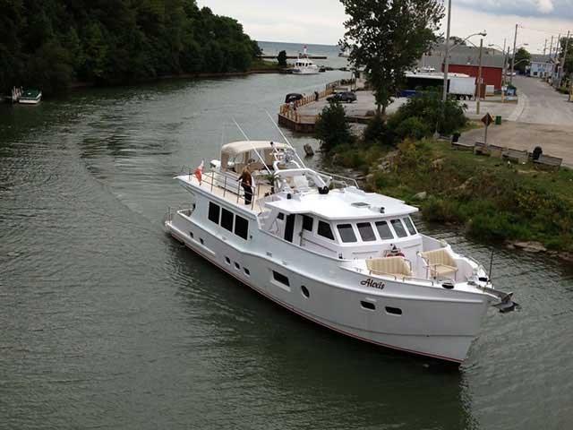 2013 Custom Boat Mfg Dovercraft Trawler Photo 3 of 22