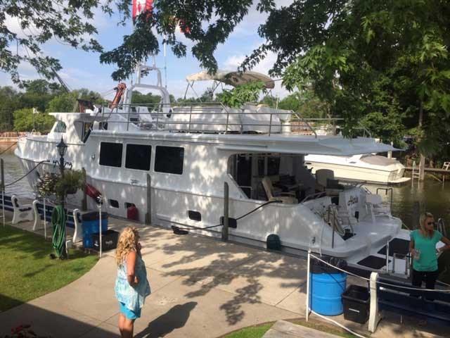 2013 Custom Boat Mfg Dovercraft Trawler Photo 6 of 22