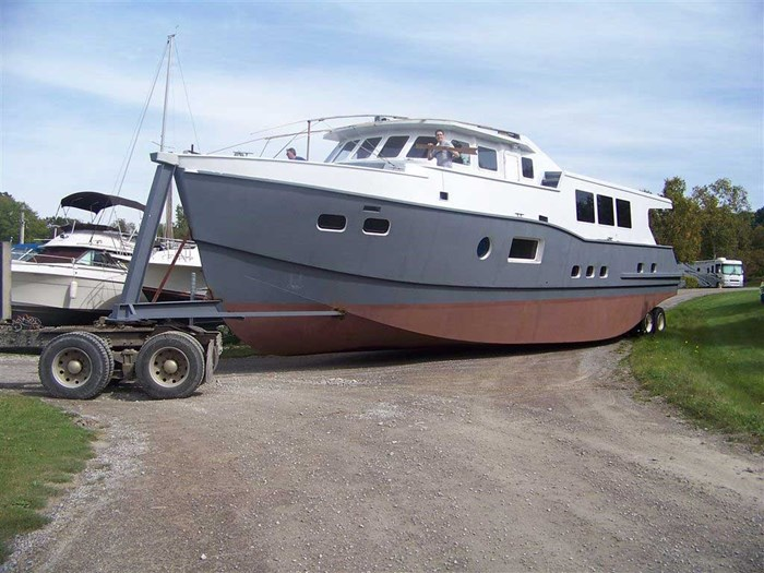 2013 Custom Boat Mfg Dovercraft Trawler Photo 4 of 15