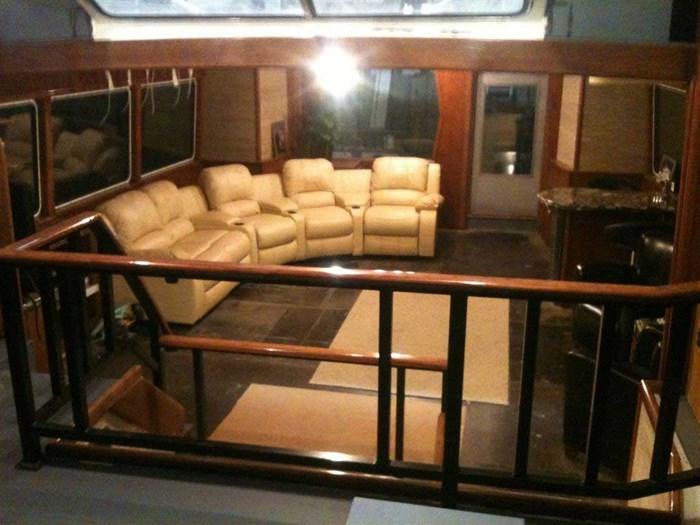2013 Custom Boat Mfg Dovercraft Trawler Photo 11 of 15