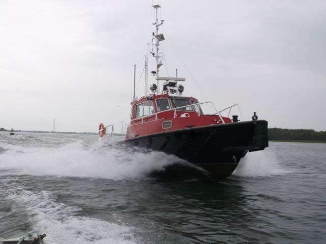 1987 Custom Built Twin Screw Aluminum Work/Tug/Pilot Boat Photo 3 of 10