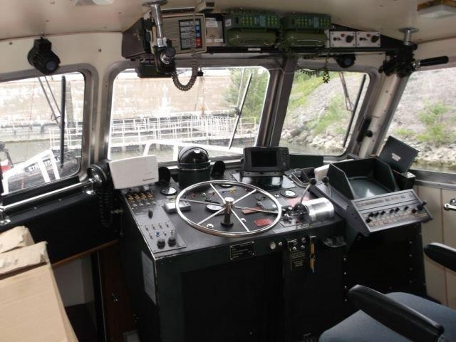 1987 Custom Built Twin Screw Aluminum Work/Tug/Pilot Boat Photo 10 of 10
