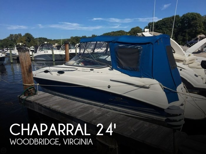 2006 Chaparral 240 Signature Photo 1 sur 20