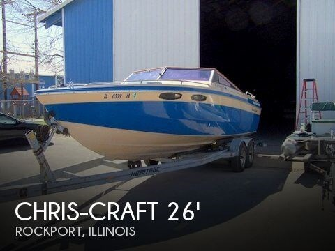 1983 Chris-Craft 260 Stinger Photo 1 sur 20