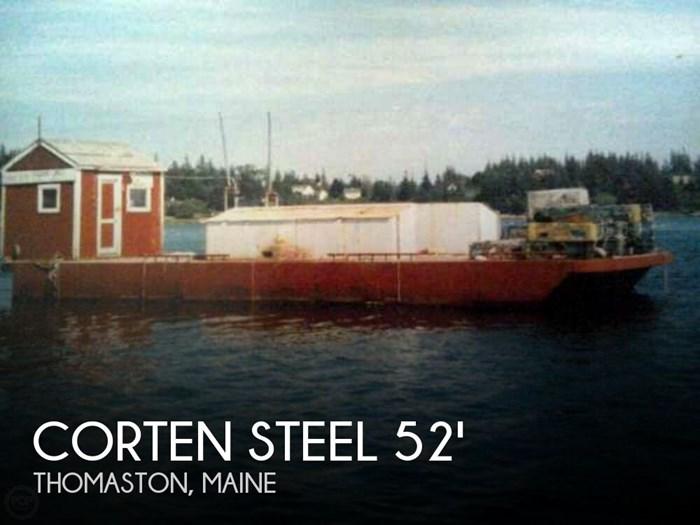 1994 Corten Steel 20' x 52' Barge Photo 1 sur 20