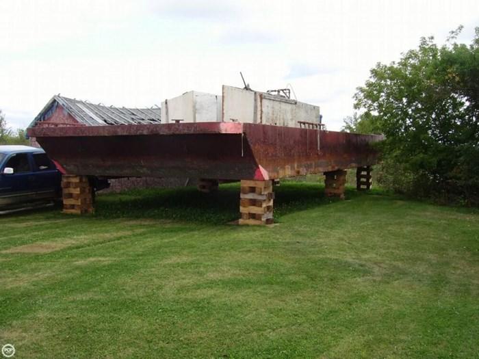 1994 Corten Steel 20' x 52' Barge Photo 2 sur 20