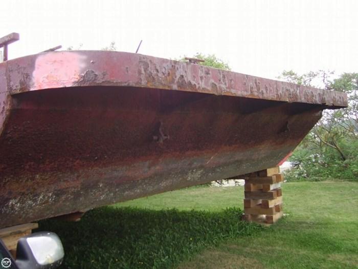 1994 Corten Steel 20' x 52' Barge Photo 3 sur 20