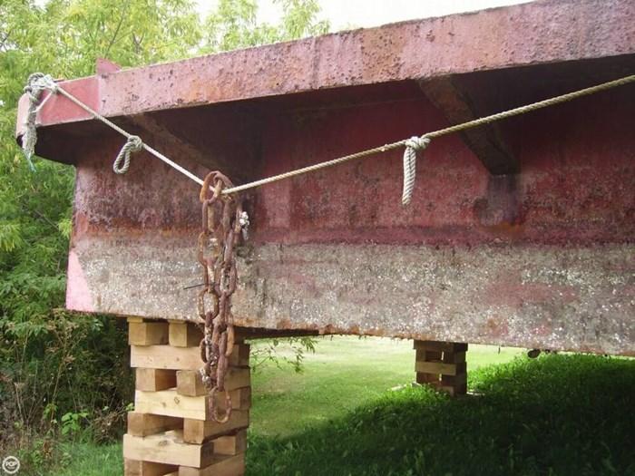 1994 Corten Steel 20' x 52' Barge Photo 13 sur 20