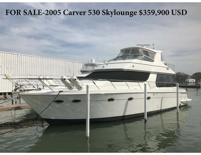 2005 Carver 530 Voyager Skylounge Photo 1 of 124