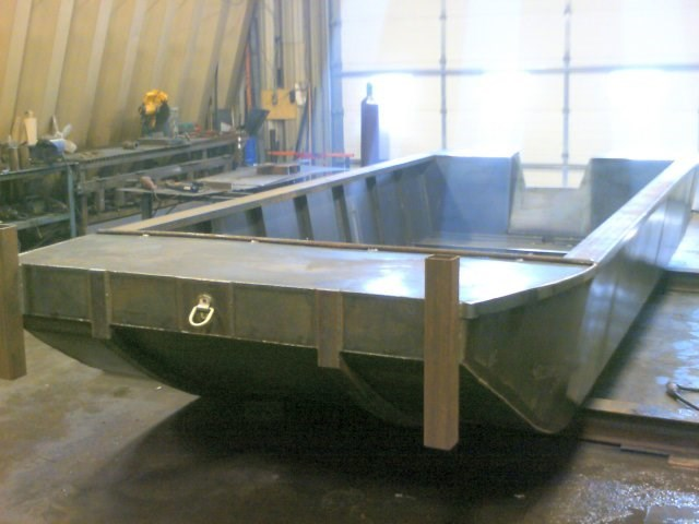 2018 Custom Built 2015 20' x 8' Flat Bottom Work Boat Photo 1 sur 3