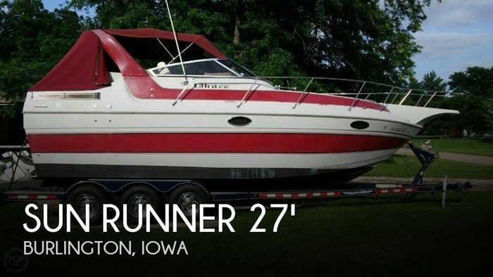 1988 Sun Runner 272 Ultra Cruiser Photo 1 sur 20