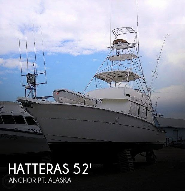 1988 Hatteras 52 Convertible Photo 1 of 21