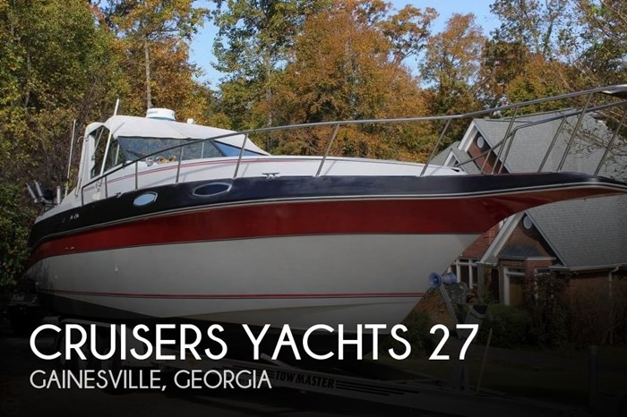 1986 Cruisers Yachts 27 Photo 1 sur 20