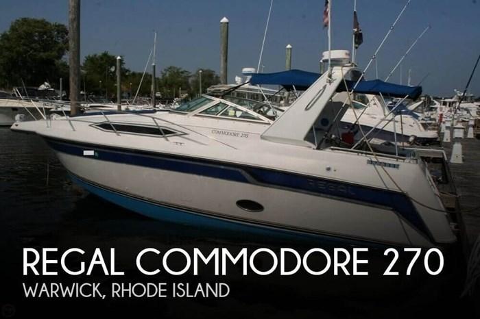 1991 Regal Commodore 270 Photo 1 sur 20