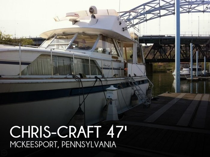 1975 Chris-Craft 47 Commander Photo 1 sur 20
