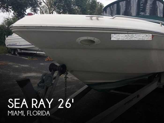 Sea Ray 260 Signature 2001 Used Boat for Sale in Miami, Florida -  BoatDealers ca