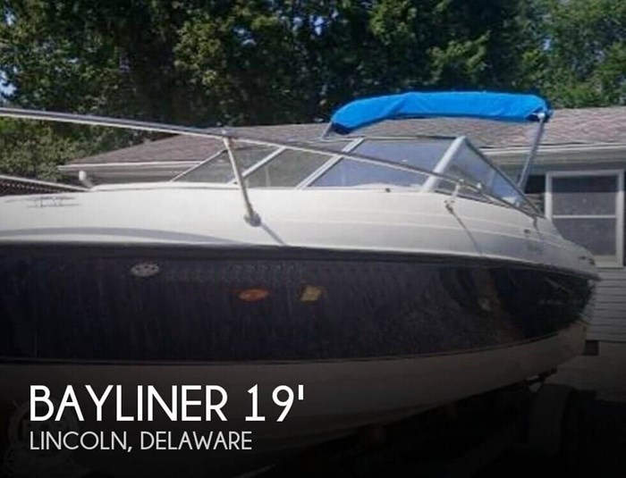 2007 Bayliner 192 Discovery Photo 1 sur 20