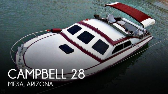 1982 Campbell 28 Photo 1 sur 20