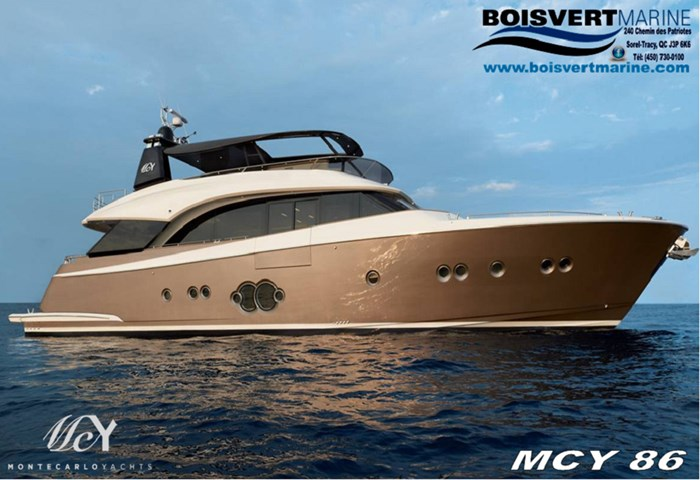 2020 Monte Carlo Yachts 86 MCY86 Photo 1 of 3