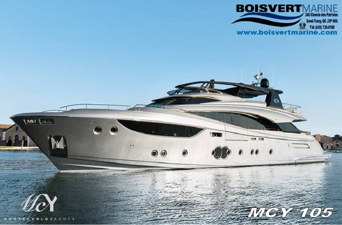 2021 Monte Carlo MCY105 Photo 1 sur 42