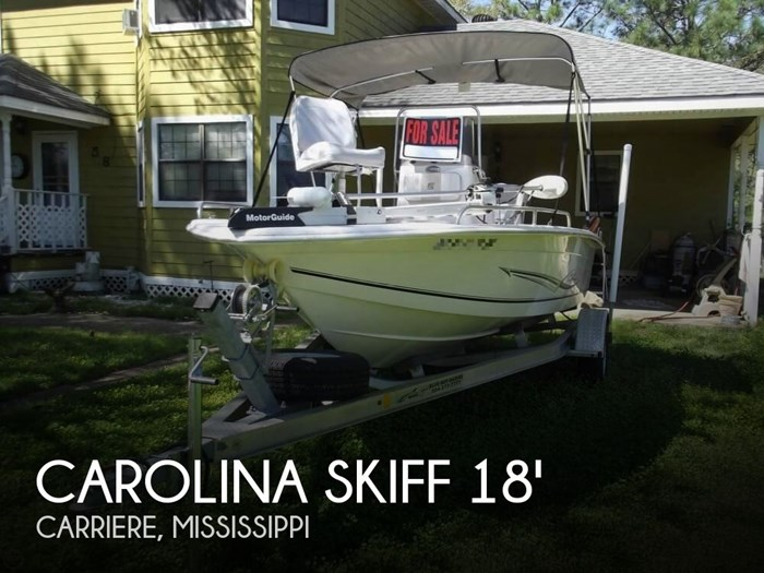 2014 Carolina Skiff Sea Chaser 180 F Photo 1 sur 20