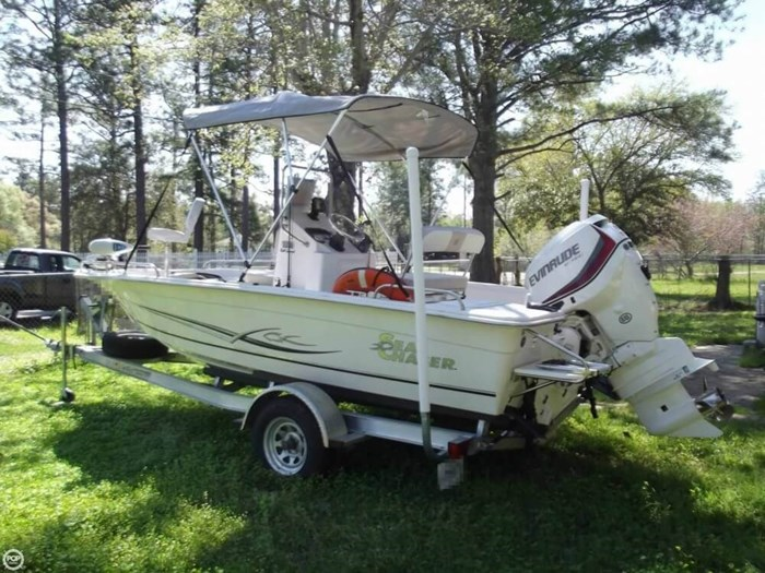 2014 Carolina Skiff Sea Chaser 180 F Photo 6 sur 20