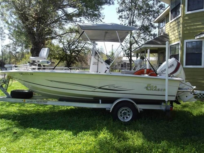2014 Carolina Skiff Sea Chaser 180 F Photo 7 sur 20