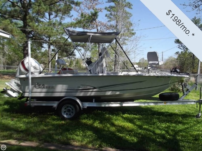 2014 Carolina Skiff Sea Chaser 180 F Photo 3 sur 20