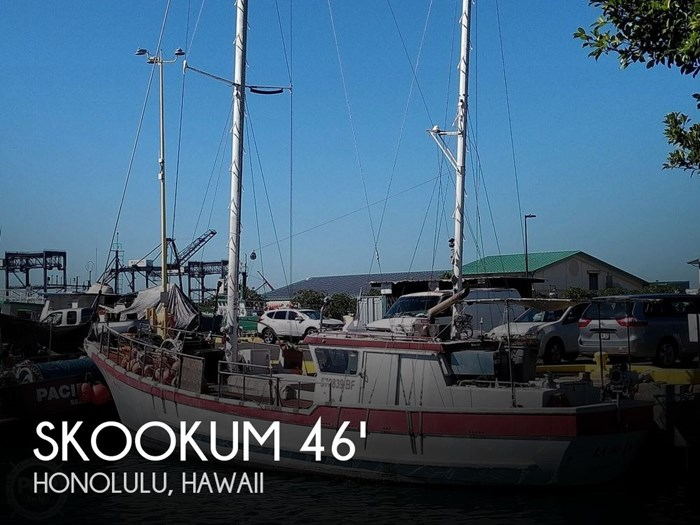 1975 Skookum Commercial Sail Fishing Boat Photo 1 of 20
