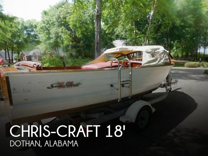 1958 Chris-Craft Sea Skiff 18 Photo 1 of 20