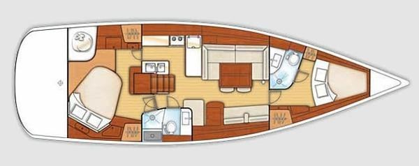 2010 Beneteau America 46 Photo 11 sur 12