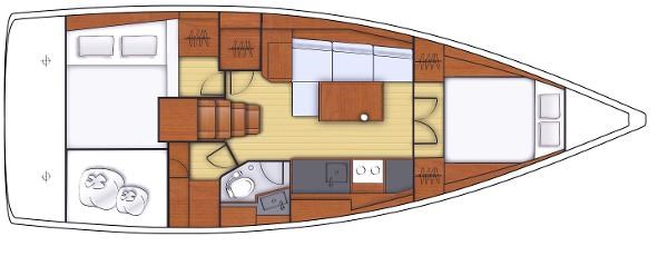 2021 Beneteau Oceanis 38.1 Photo 5 sur 32