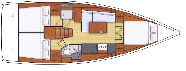 2021 Beneteau Oceanis 38.1 Photo 3 sur 32