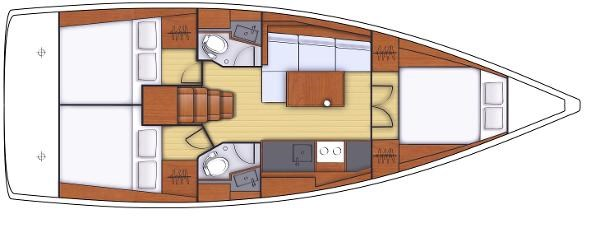 2021 Beneteau Oceanis 38.1 Photo 2 sur 32