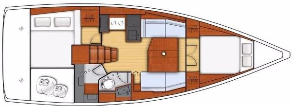 2021 Beneteau Oceanis 38.1 Photo 1 sur 32