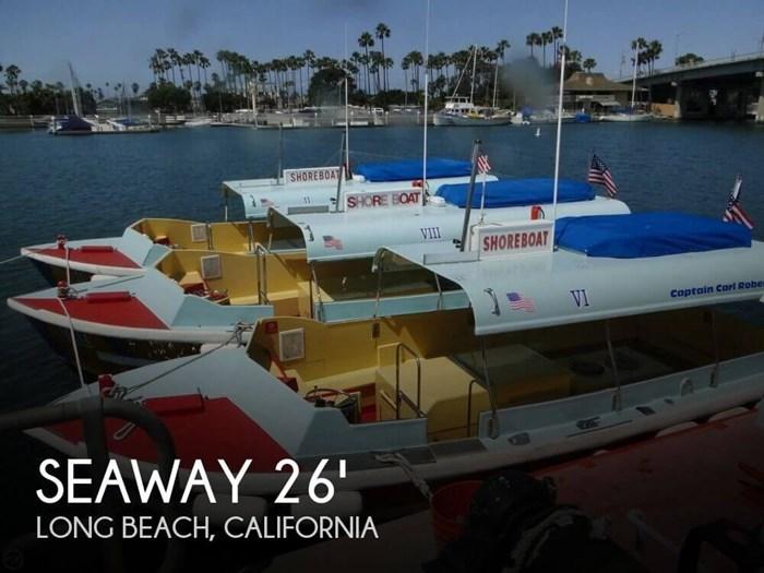 1975 Seaway Boats Company Custom 26' Water Taxi Photo 1 of 20