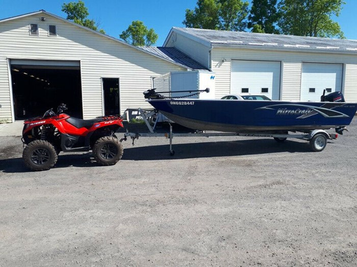 2019 MirroCraft 1876 Outfitter Tiller Photo 2 of 8