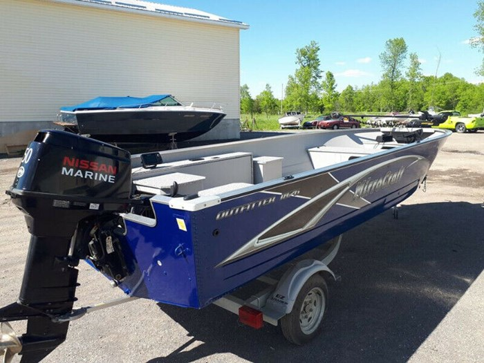 2019 MirroCraft 1876 Outfitter Tiller Photo 1 of 8