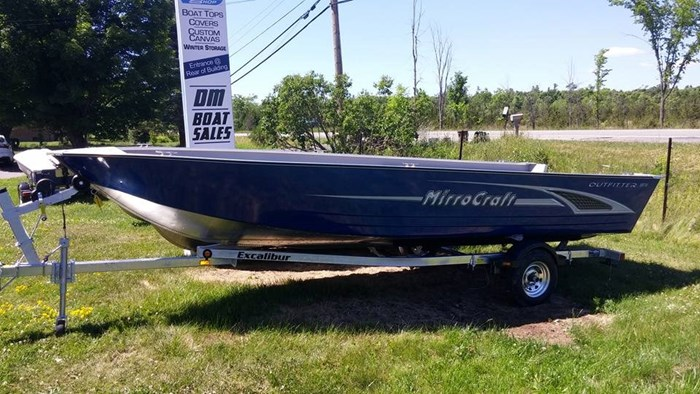 2019 MirroCraft 1876 Outfitter Tiller Photo 1 of 6