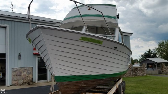 1967 Chris-Craft Sea Skiff 32 Sports Cruiser Photo 13 of 20