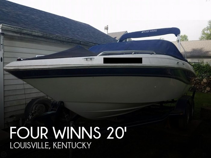 Four Winns 210 Horizon 2002 Used Boat For Sale In