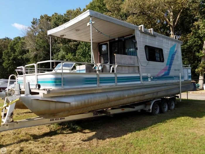 1997 Leisure Kraft 30 House Boat Photo 2 sur 20