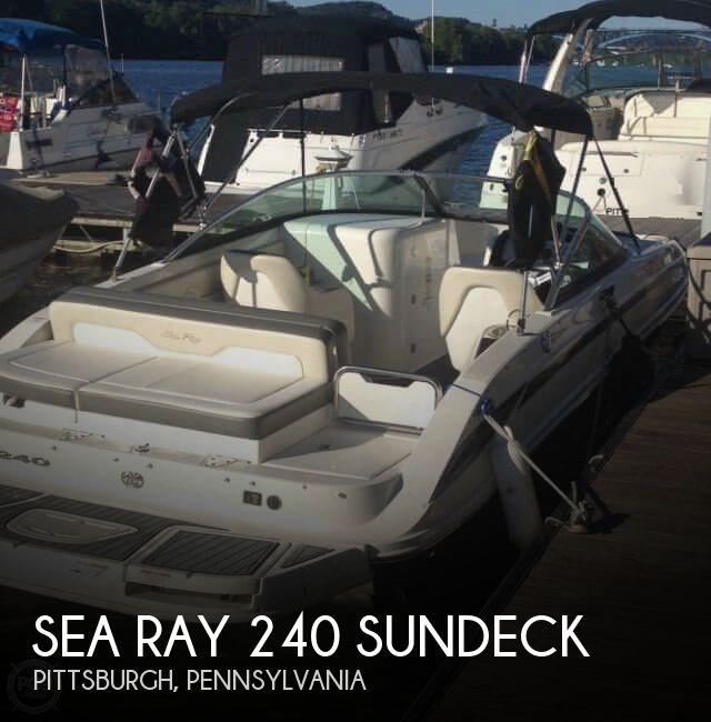 2012 Sea Ray 240 Sundeck Photo 1 of 20