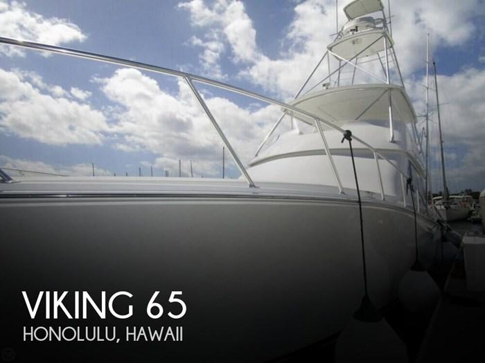 2005 Viking Yachts 65 Convertible Photo 1 of 20