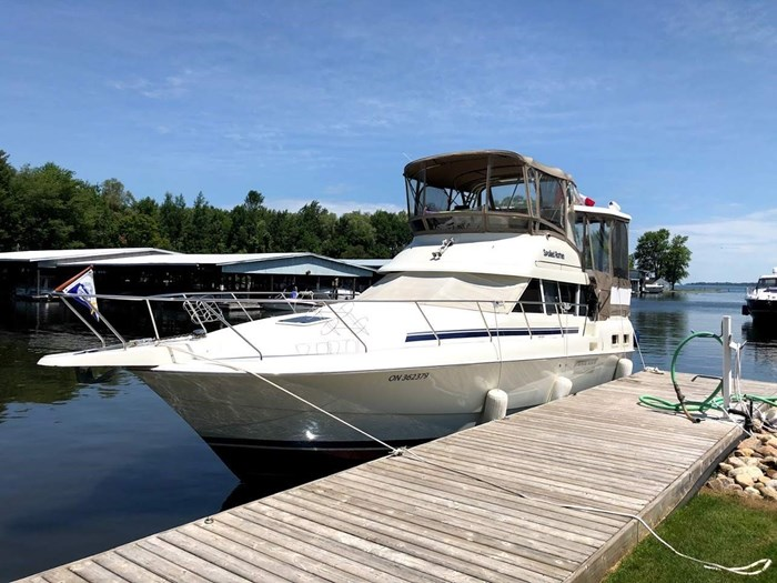 Silverton 34 Aft Cabin Motor Yacht 1994 Used Boat for Sale in Lefroy,  Ontario - BoatDealers ca