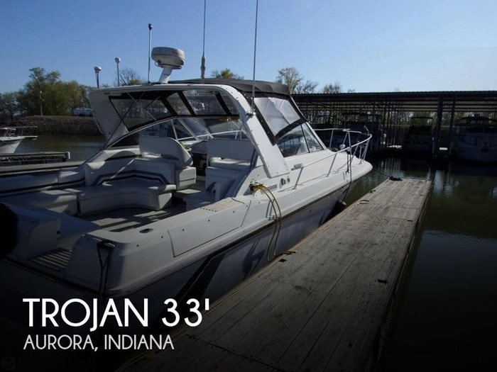 1990 Trojan 10 Meter Mid-Cabin Photo 1 sur 20