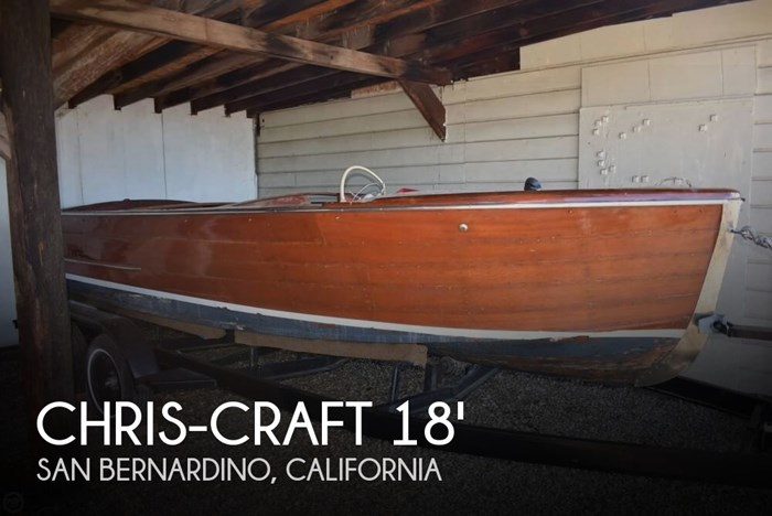 1945 Chris-Craft Sportsman 18 Photo 1 sur 20