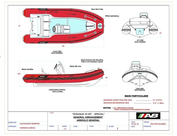 2021 AB Inflatables Oceanus 15 VST Photo 6 of 6
