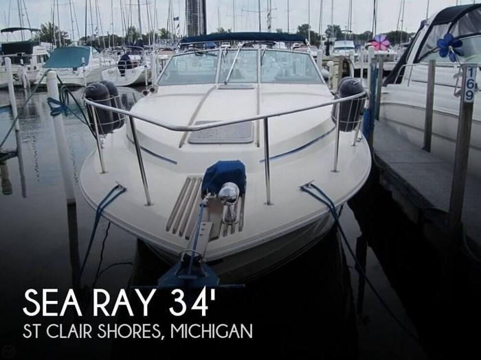 1984 Sea Ray 340 Sundancer Photo 1 sur 20